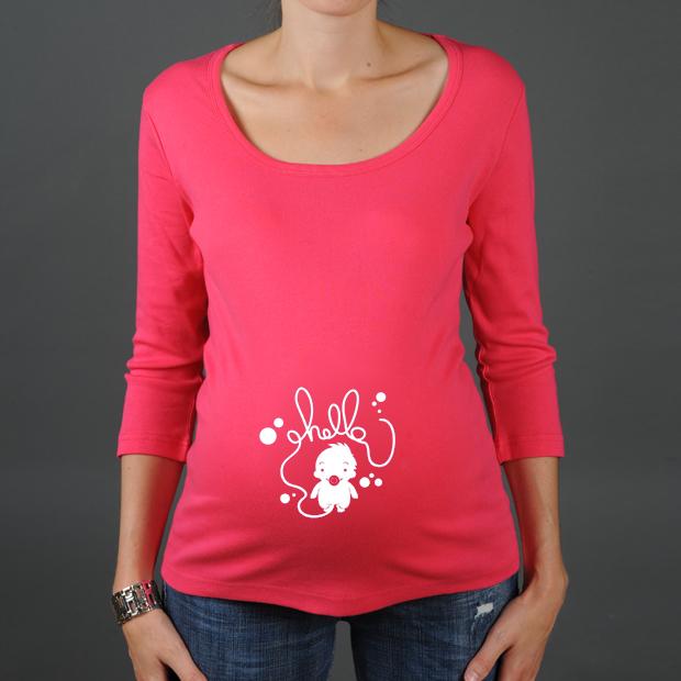 tee shirt de grossesse pour futures mamans. Black Bedroom Furniture Sets. Home Design Ideas
