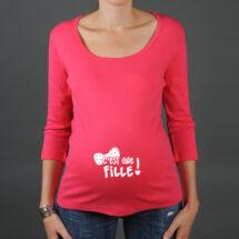 t shirt grossesse fille