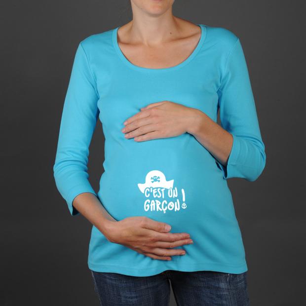 tee shirt femme enceinte fille ou garcon