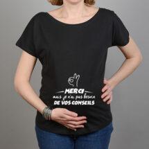 tee shirt enceinte